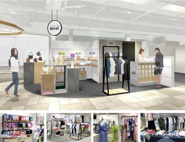 オーナーさんが店舗に立つ「出店型」プロジェクト名「SHIBUYA BASE」店舗イメージ