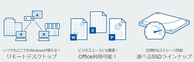 レンタルサーバー さくらのVPS for Windows Server のメリット