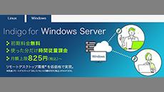 レンタルサーバー WebARENA Indigo Windows Server